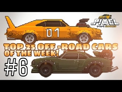 Pixel Car Racer: Your Top 25 OFF-ROAD Cars of the week #6!