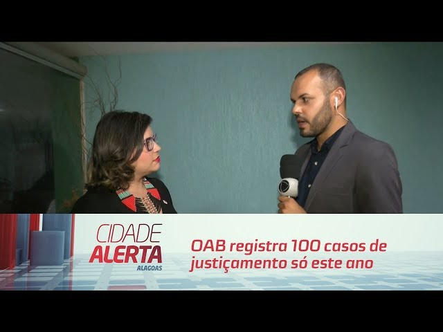 OAB registra 100 casos de justiçamento só este ano