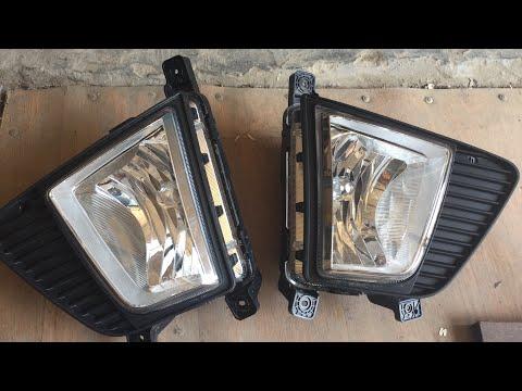 видео: Установка ПТФ на Хендай Крета со снятием бампера