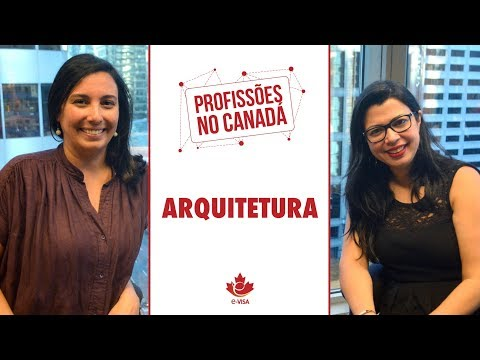 22.08.17 - ARQUITETURA NO CANADÁ
