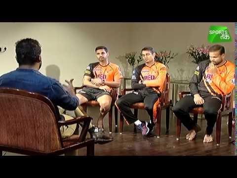 Exclusive: Bhuvneshwar Kumar, Siddarth Kaul & Yusuf Pathan @ Sports Tak