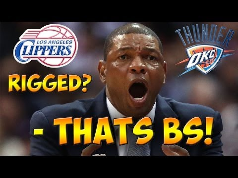 CLIPS VS OKC GAME 5 RIGGED?! WTF REFS?! What Do You Think? - NBA Playoff Talk #2
