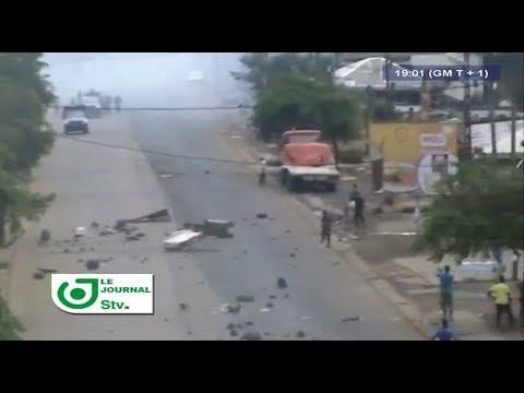 JOURNAL STV 19H00 - (EXPLOSION d'une BOMBE à DOUALA // MANIFESTATIONS au NORD-OUEST et au SUD-OUEST)
