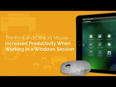 Citrix Mouse and iPads – A Great Team for Remote Sessions