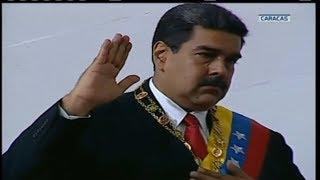 Maduro es juramentado desde la ANC como Presidente de la República 2019-2025 thumbnail