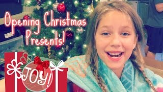 7 Kids Opening Christmas Presents on Christmas Morning! Gifts Haul 2016 Hopes Vlogs