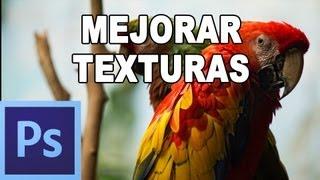 Cómo añadir textura a fotografia - Tutorial Photoshop en Español por @prismatutorial (HD)