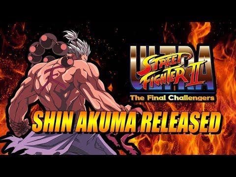 SHIN AKUMA RELEASED! Ultra Street Fighter 2: Arcade Mode