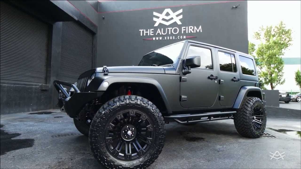 2014 Avorza Jeep Wrangler Satin Black Edition By Alex Vega The