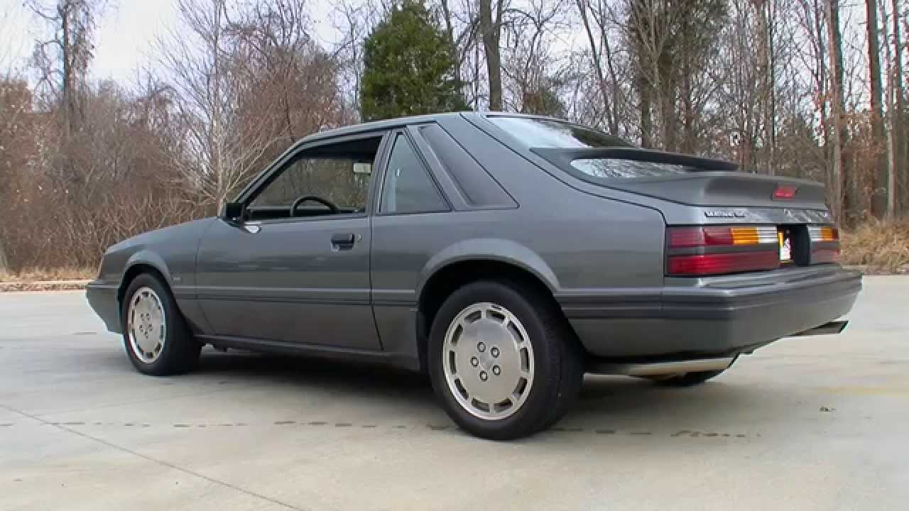 134982 1986 ford mustang svo