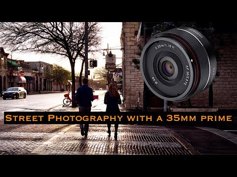Street Photography with a 35mm Prime Lens