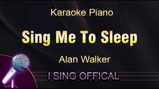 Alan Walker - Sing Me To Sleep (Karaoke Piano)