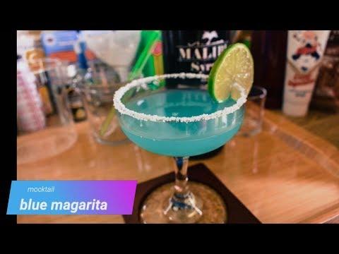 blue margarita mock