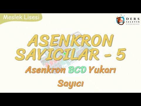 ASENKRON SAYICILAR - 5 / ASENKRON BCD YUKARI SAYICI