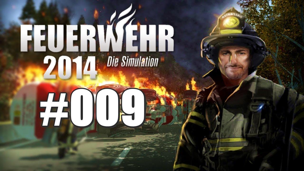 Feuerwehr 2014 - Die Simulation #009 - Autounfall - YouTube