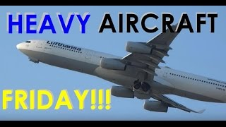 (HD) HEAVY AIRCRAFT FRIDAY!! Chicago O