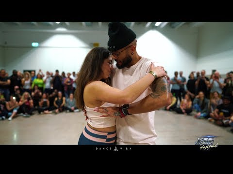 Albir and Bianca Baias at Sweden Kizomba Festival Workshop! By Dance Vida