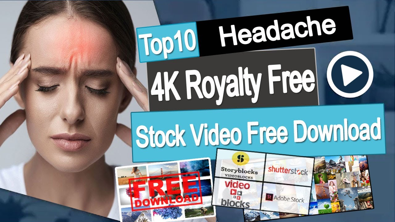 Headache Royalty Free 4k Stock Video Footage Copyright Free Videos Free Download Youtube