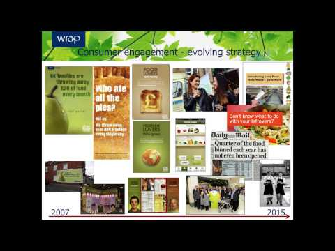 Consumer Food Waste – Evidence and Action, Andrew Parry, WRAP