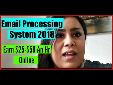 Email Processing Review 2017! How To Make Money Working From Home With Email Processing 2017 & 2018