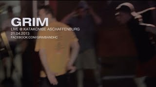 Grim Live @ Katakombe Aschaffenburg (HD)