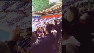 AC Milan VS Austria Wien (Fans Cheering)