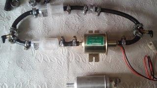 Установка электро подкачивающего насоса топлива Hep-02a на Ford 1.8 TD для лучшего запуска.(, 2015-03-15T16:00:23.000Z)