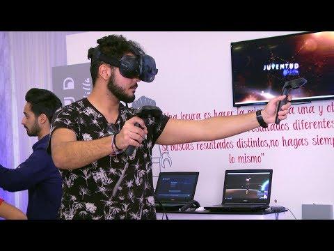Los jóvenes melillenses se adentran en la realidad virtual y los videojuegos