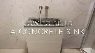 how to build a gfrc concrete sink 4