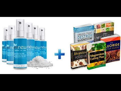 Renew Magnesium Spary Oil Review - Does It Really Work or Scam?