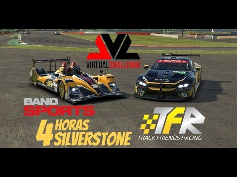 Endurance Band Sports Virtual Challenge | 4 Horas De Silverstone | Track Friends Racing #269
