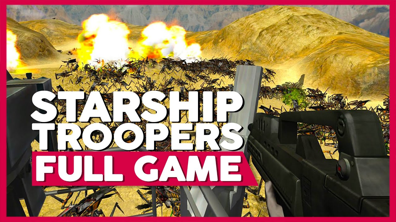 Starship Troopers | Full Playthrough | No Commentary [PC] (60FPS)