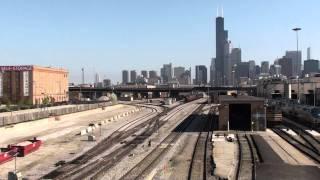 PRR 5711 & 5809 Leaving Chicago, IL