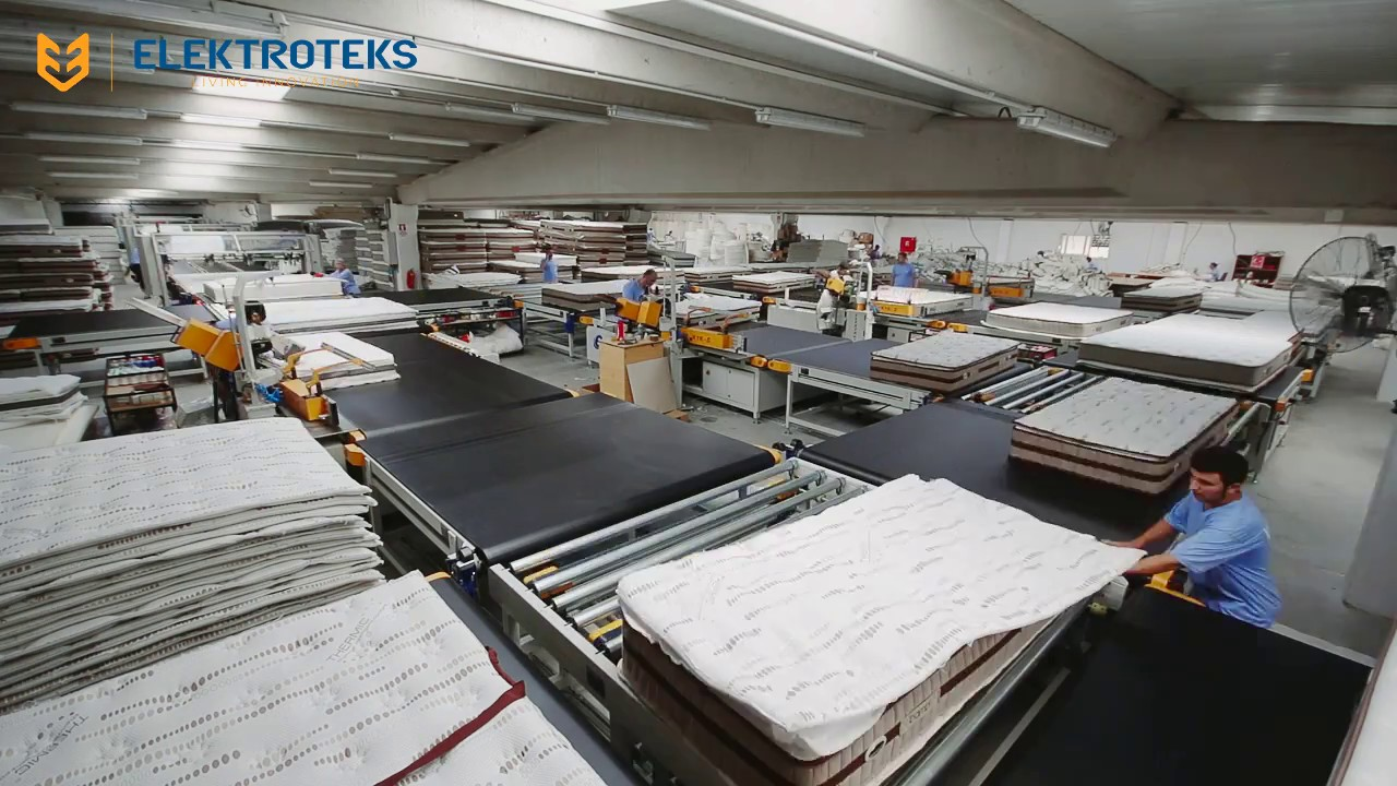 Bedline Mattress Production Line Gluing Tape Edge And