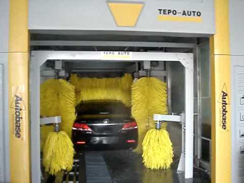 Automatic Car Washing Machine Systems China Tepo Auto Youtube
