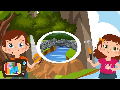 Podul de piatra  – Clopotelul Magic – cantece pentru copii  – Cantece pentru copii in limba romana