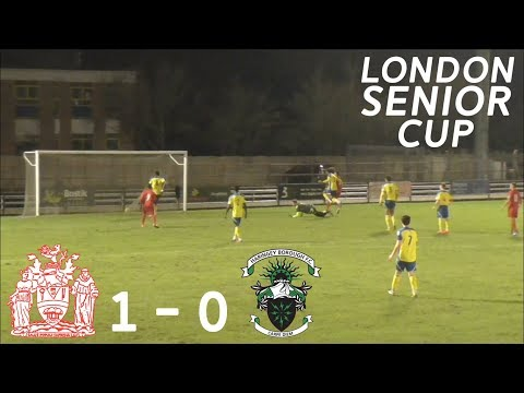 London Senior Cup: Harrow Borough F.C 1 - 0 Haringey Borough F.C [Away Highlights]