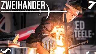 MAKING A ZWEIHANDER SWORD!!! Part 7