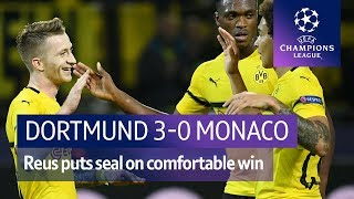 Dortmund vs Monaco (3-0) UEFA Champions League Highlights