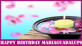 MariaGuadalupe   Birthday Spa - Happy Birthday