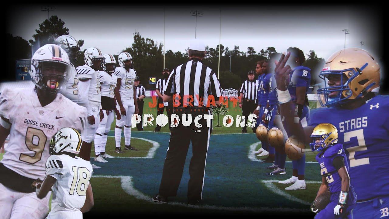A High School Football Movie 🎥 : Goose Creek vs Berkeley High🔥 (Extended Game Highlights)