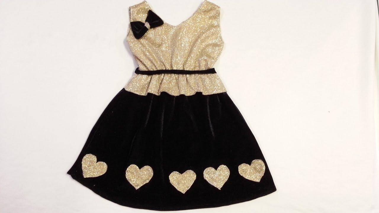 Photo of أسهل واسرع طريقة لخياطة فستان طفلة بدون بطانة و بطريقة تنزيل اسفل الصدر على التنورة – تحميل