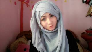 hijab style without inner cap