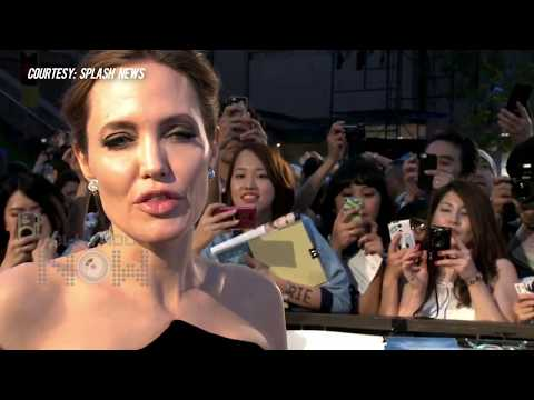 Maleficent Stars Angelina Jolie Elle Fanning STUN In Tokyo Japan