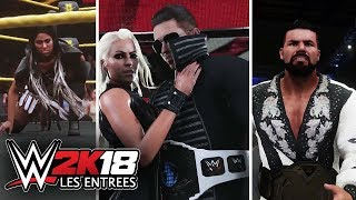 WWE 2K18 : LES ENTRÉES DE THE MIZ , BOBBY ROODE ET EMBER MOON ! [FR]