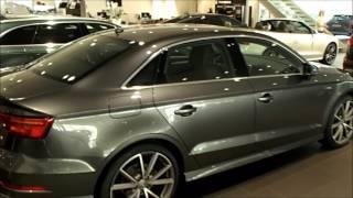 new fl 2017 audi a3 sedan virtuel cockpit head light walkaround