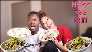 HOW ME AND ESSI MET : CHIPOTLE MUKABANG