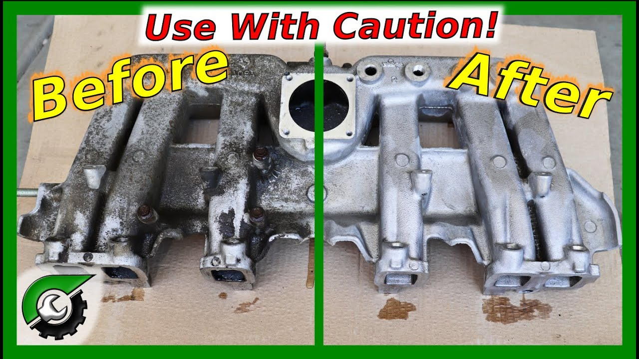 My Secrets To Making Aluminum Engine Parts Looks New (Remove