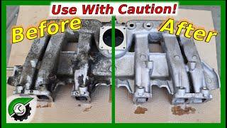 Super Clean Aluminum Engine Parts