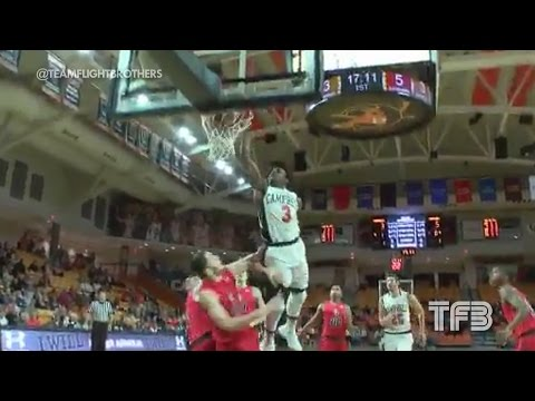 """POSTER DUNK! 5'7"""" Chris Clemons THROWS DOWN on DEFENDER #SCTop10"""